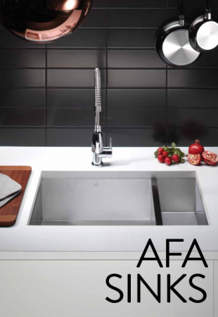 AFA Sinks and plumbing fixtures pamphlet