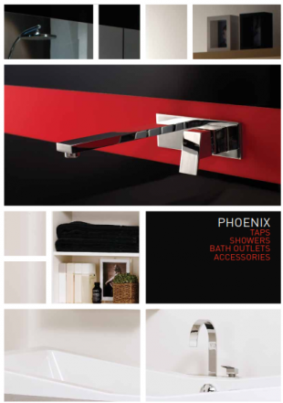 Phoenix taps showers bath outlets and accessories includes Plumbers installation notes